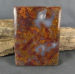 Bloody Basin Agate Large Cabochon