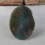 Bloodstone Cabochon a