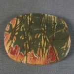 Cherry Creek Jasper cabochon CC179