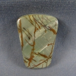 Cherry Creek Jasper cabochon CC227