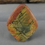 Cherry Creek Jasper cabochon CC243