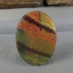 Cherry Creek Jasper cabochon CC253
