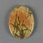 Cherry Creek Jasper cabochon CC255
