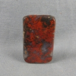 Flame Agate Cabochon 107
