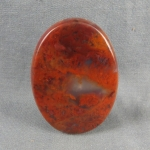 Flame Agate Cabochon 109