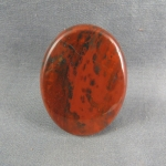 Flame Agate Cabochon 117