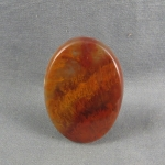 Flame Agate Cabochon 121