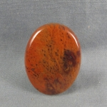 Flame Agate Cabochon 122