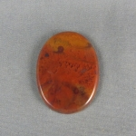 Flame Agate Cabochon 123