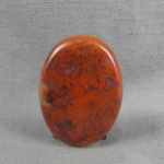 Flame Agate Cabochon 124