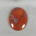 Flame Agate Cabochon 146