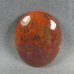 Flame Agate Cabochon 151