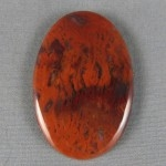 Flame Agate Cabochon 160