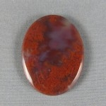 Flame Agate Cabochon 163