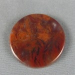 Flame Agate Cabochon 169