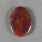 Flame Agate Cabochon 175