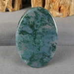Green Moss Agate Cabochon 182