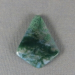 Green Moss Agate Cabochon 190