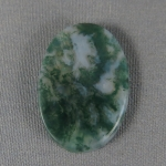 Green Moss Agate Cabochon 193
