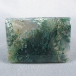Green Moss Agate Cabochon 38