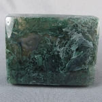 Green Moss Agate Cabochon 51