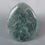 Green Moss Agate Cabochon 55