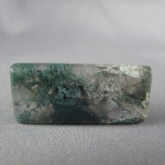 Green Moss Agate Cabochon 89