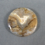 Graveyard Point Plume Agate Cabochon 131
