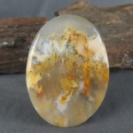 Graveyard Point Plume Agate Cabochon 160