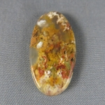 Graveyard Point Plume Agate Cabochon 251