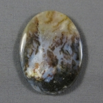Graveyard Point Plume Agate Cabochon 252