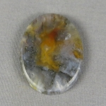 Graveyard Point Plume Agate Cabochon 261