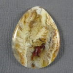 Graveyard Point Plume Agate Cabochon 263