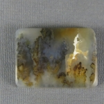 Graveyard Point Plume Agate Cabochon 276