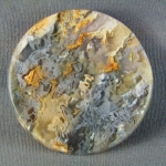 Graveyard Point Plume Agate Cabochon ROUND