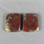 Marston Ranch Wood Replacement Cabochon PAIR  36