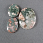Ocean Jasper Cabochons 3 pc set
