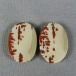 Owyhee Picture Jasper Cabochon PAIR