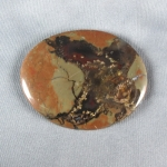 Priday Plume Agate Cabochon 110