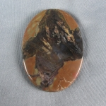 Priday Plume Agate Cabochon 115