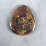 Priday Plume Agate Cabochon 125