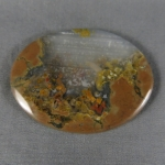 Priday Plume Agate Cabochon 163