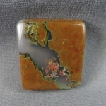 Priday Plume Agate Cabochon 206