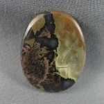 Priday Moss Agate Cabochon 207