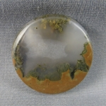 Priday Moss Agate Cabochon 208