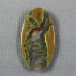 Priday Plume Agate Cabochon 224