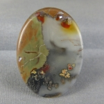 Priday Plume Agate Cabochon 226