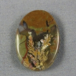 Priday Plume Agate Cabochon 234