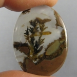 Priday Plume Agate Cabochon 238