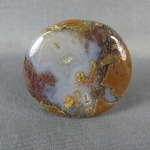 Priday Plume Agate Cabochon 61